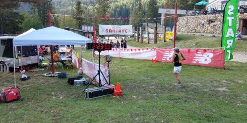 Megan's USF50k Finish